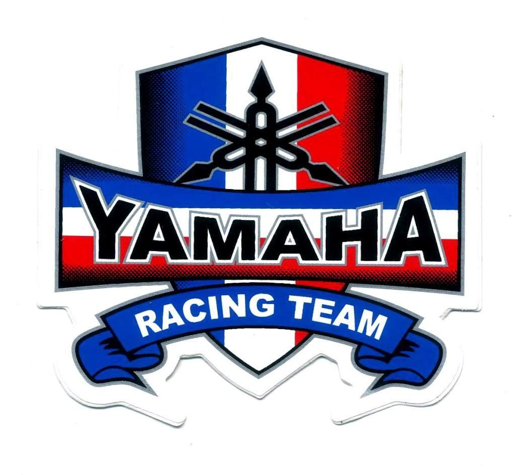 Yamaha racing team decal