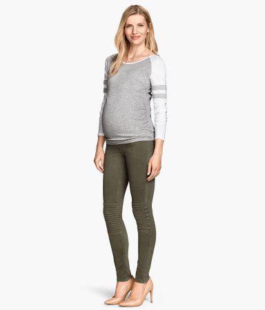 ad891b1c4ba1ff Product Detail | H&M US H M Maternity, Maternity Fashion, Maternity Style,  Treggings,