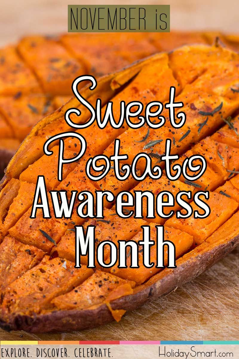 November is Sweet Potato Awareness Month (With images