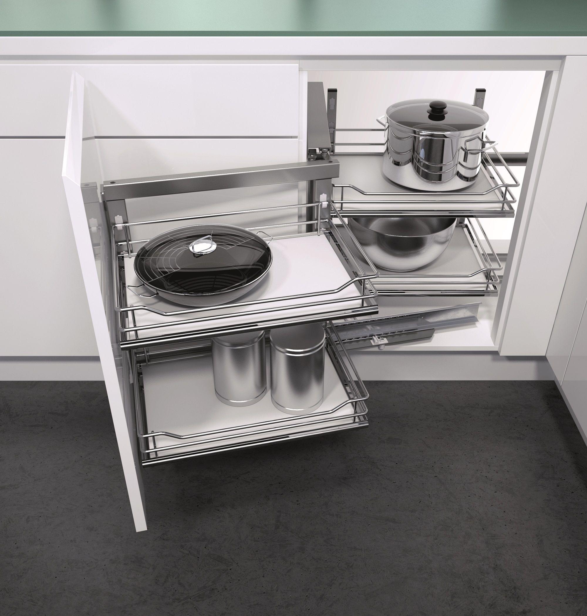 Vauth-Sagel\'s Wari Corner Unit with Premea solid base shelf option ...