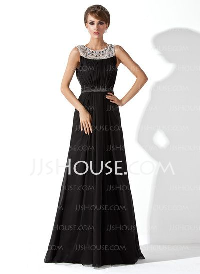 Evening Dresses - $156.49 - A-Line/Princess Scoop Neck Floor-Length ...