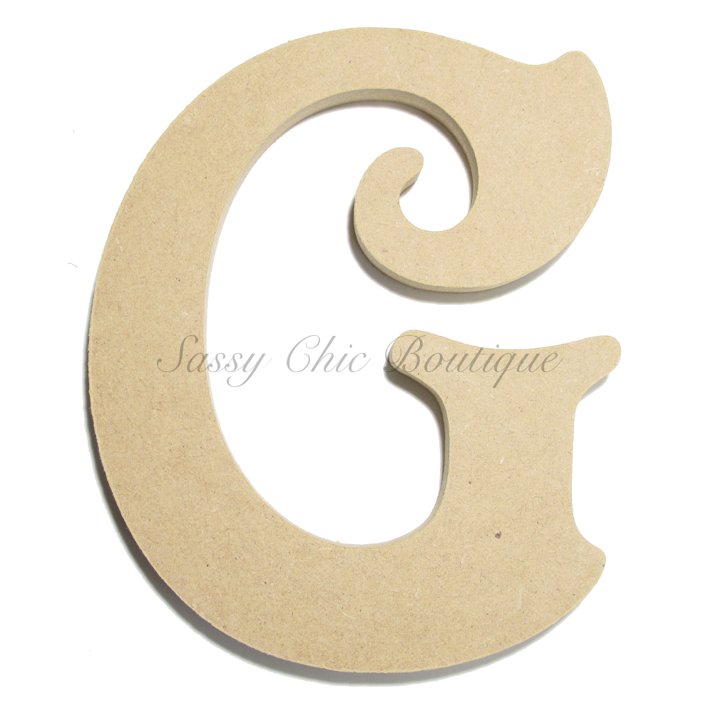 6quot 36quot inch unfinished wooden letter uppercase quotg for 36 inch wooden letters