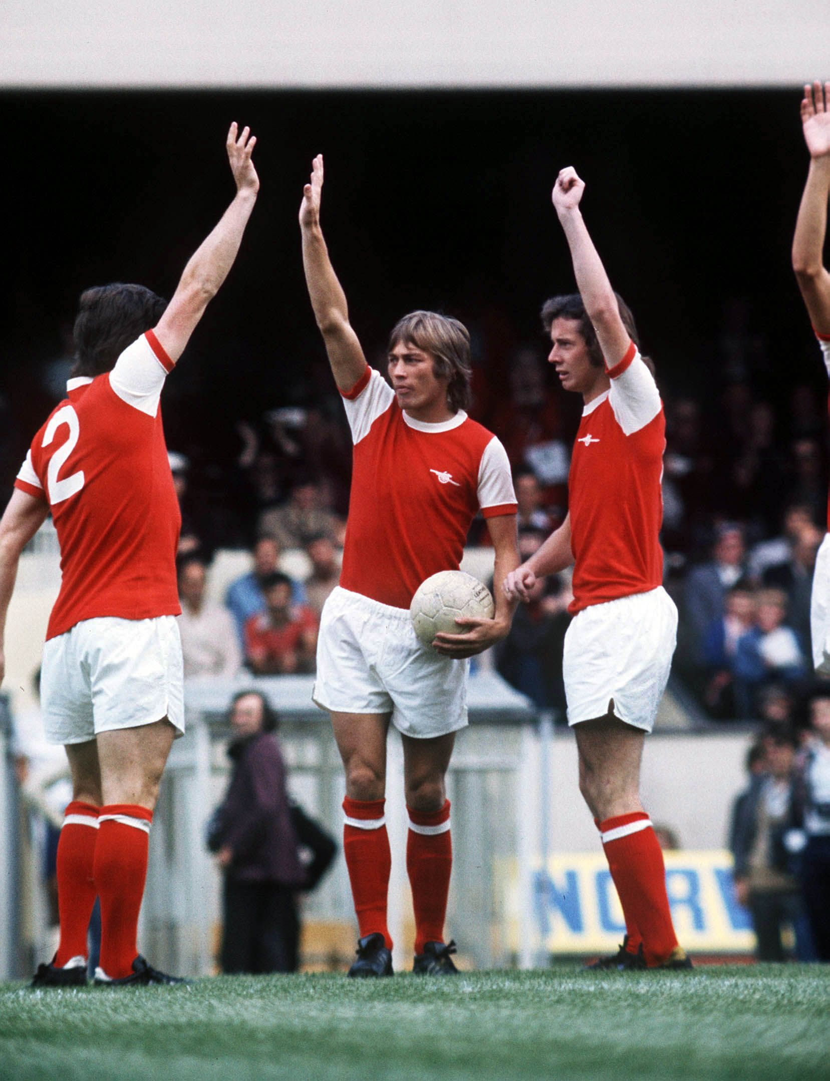 Arsenal in the 1970s. Credit: Colorsport.