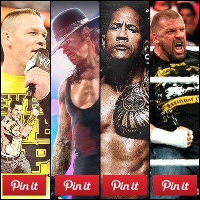 #WWE #JohnCena #Undertaker #TheRock #ThipleH