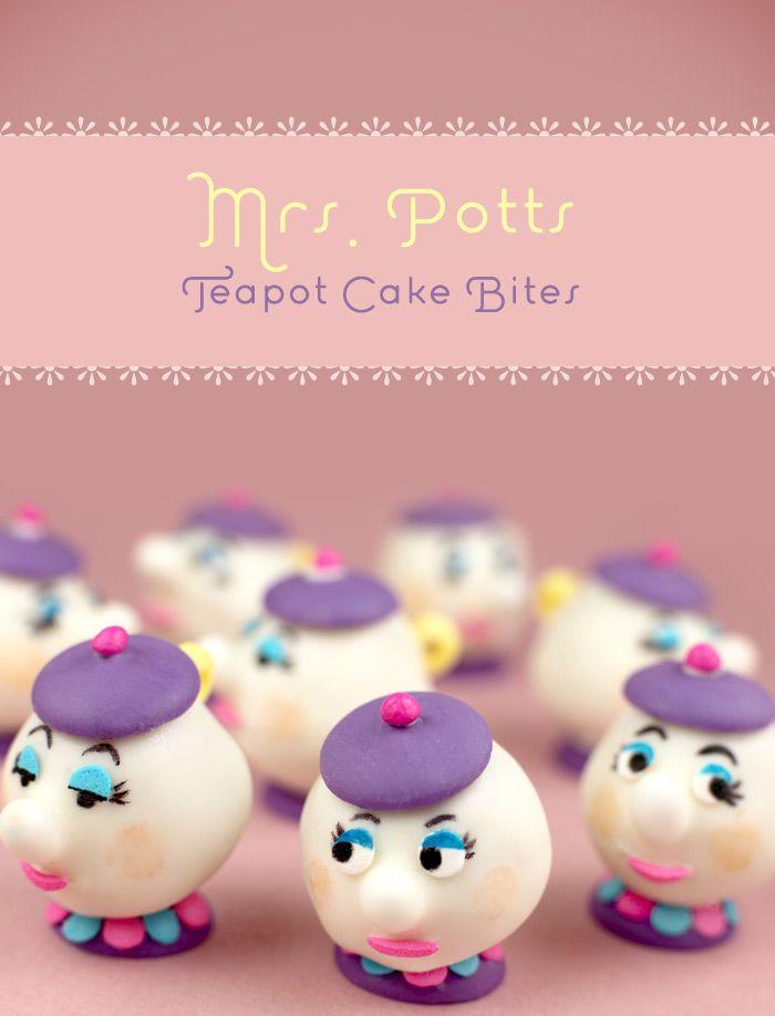 Mrs. Potts #cupcakes #disney