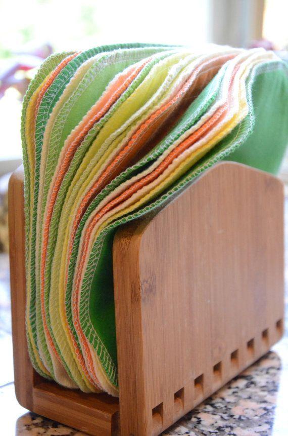 Photo of Cloth Napkins, Unpaper Napkins, 20 Citrus Burst Napkins, Eco-Friendly Napkins