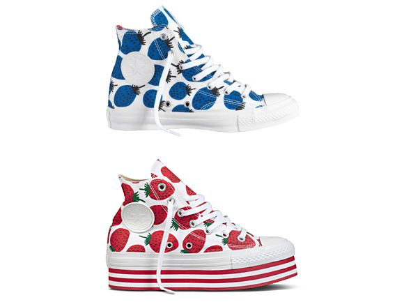 Strawberry Converse by Marimekko
