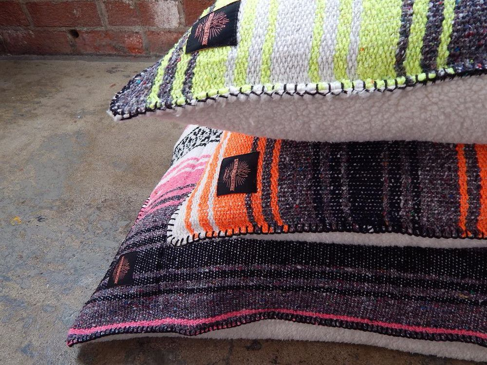 Mexican Blanket Dog Beds from Rosie Bunny Bean Blanket