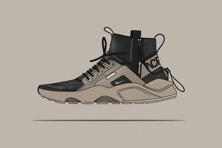 32bdae5cb67a Check out These NikeLab ACRONYM Huarache Mid Concept Shoes ...
