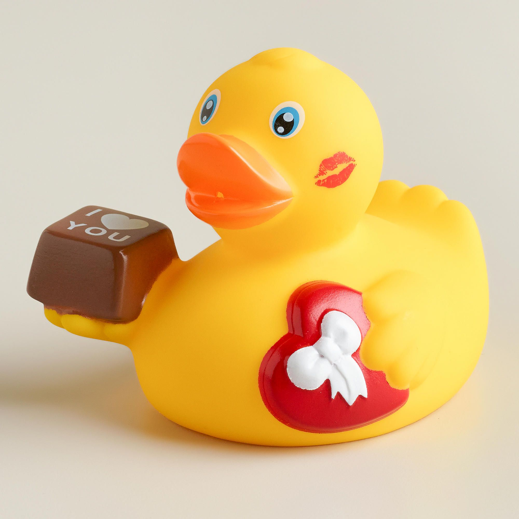 Valentinefts Day Rubber Duck Bath Toy