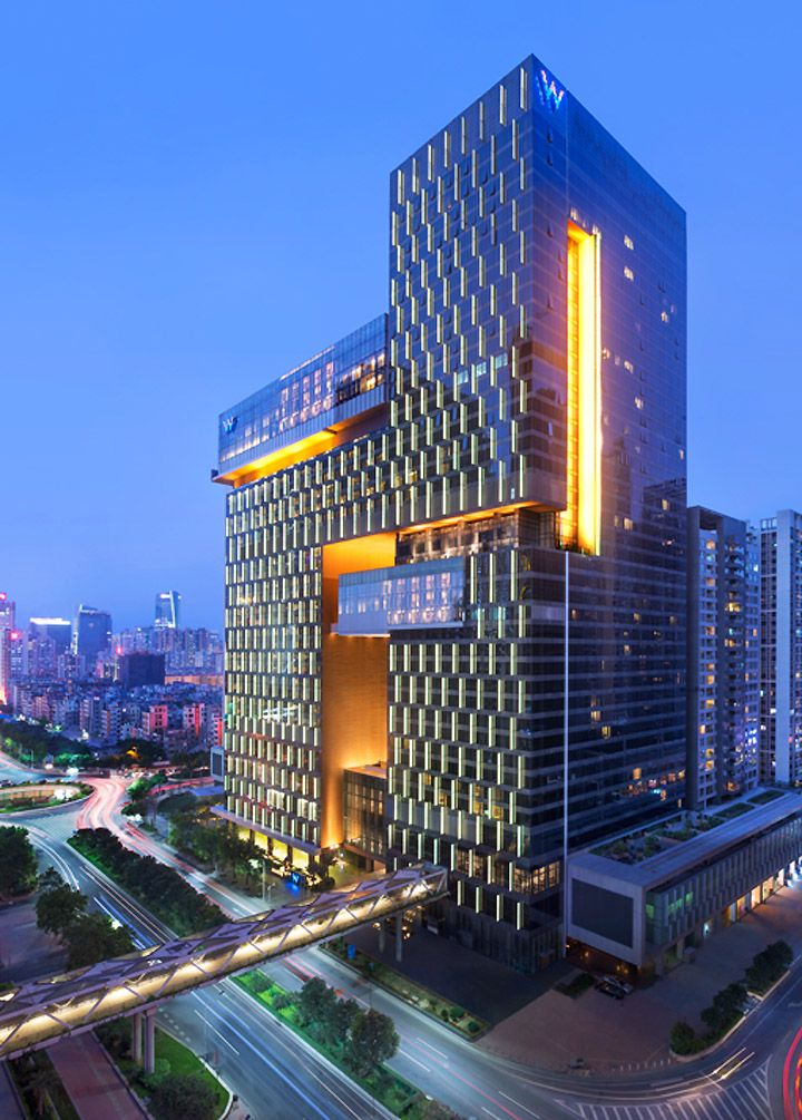 W Hotel by Rocco Design Architects, Guangzhou  China