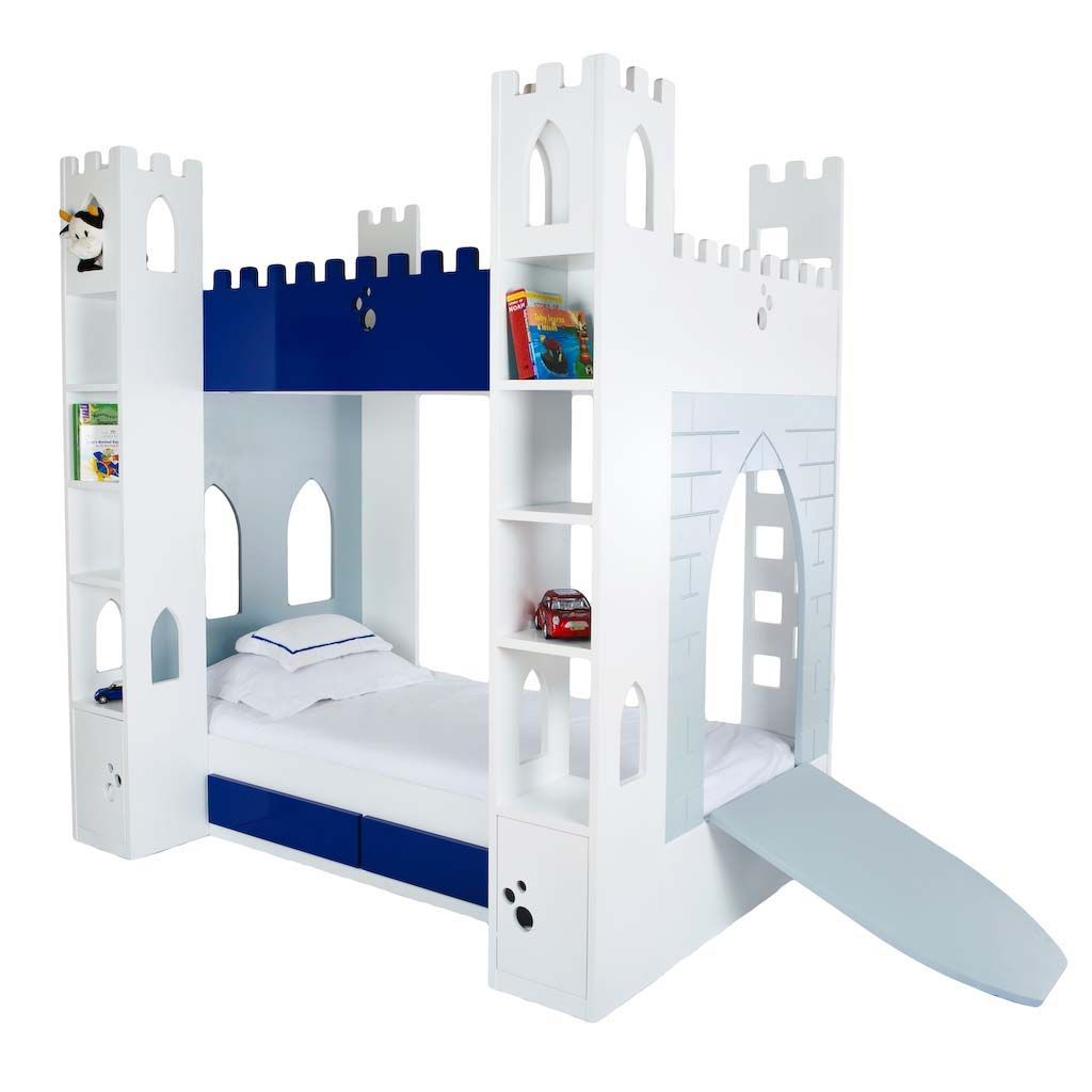 Castle beds for boy with drawbridge small spaces for Bedrooms and more