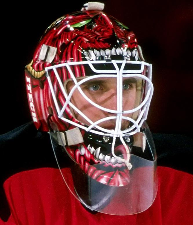Mike Dunham Hockey Mask Goalie Mask Goalie