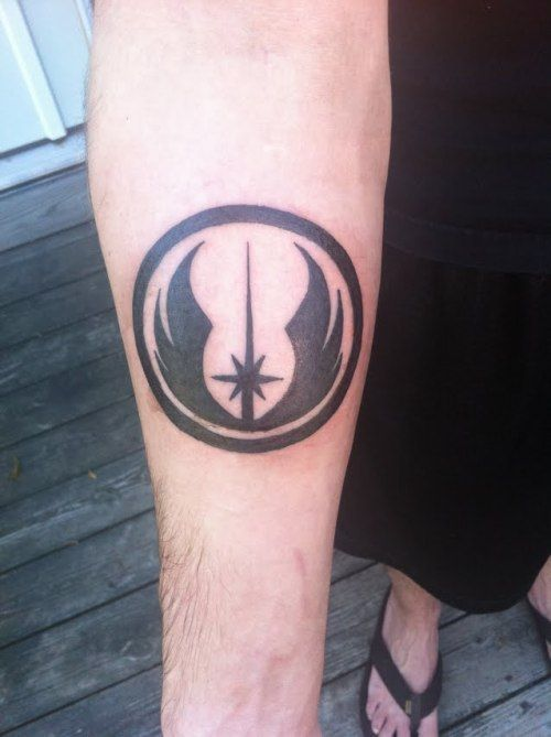 Jedi Order Symbol Tattoo My Jedi Order Tattoo Im A Tattoos