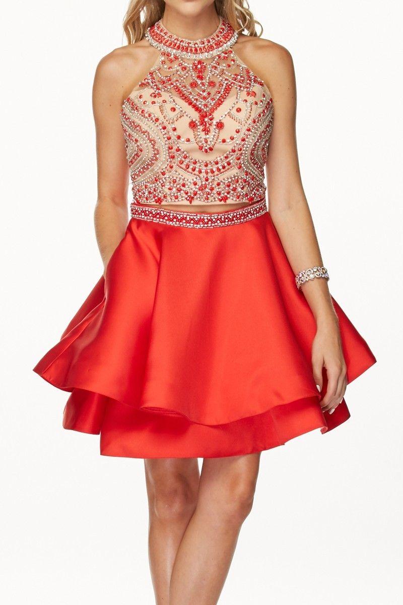 Cocktailkleid Kirstin | Rote Kleider online kaufen | Entdecke deine ...