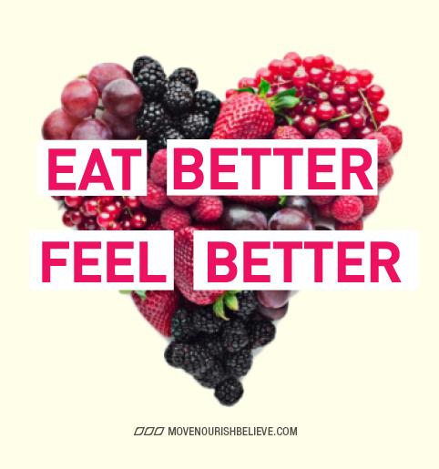 Eat Better, Feel Better #vegan #vegetarian #food