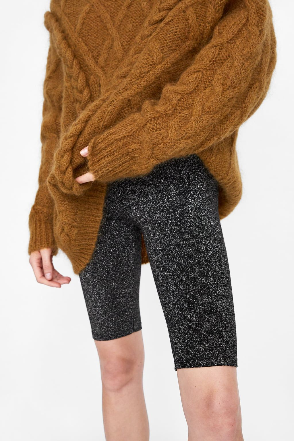 6d1a96adf3 KNIT CYCLING PANTS from Zara