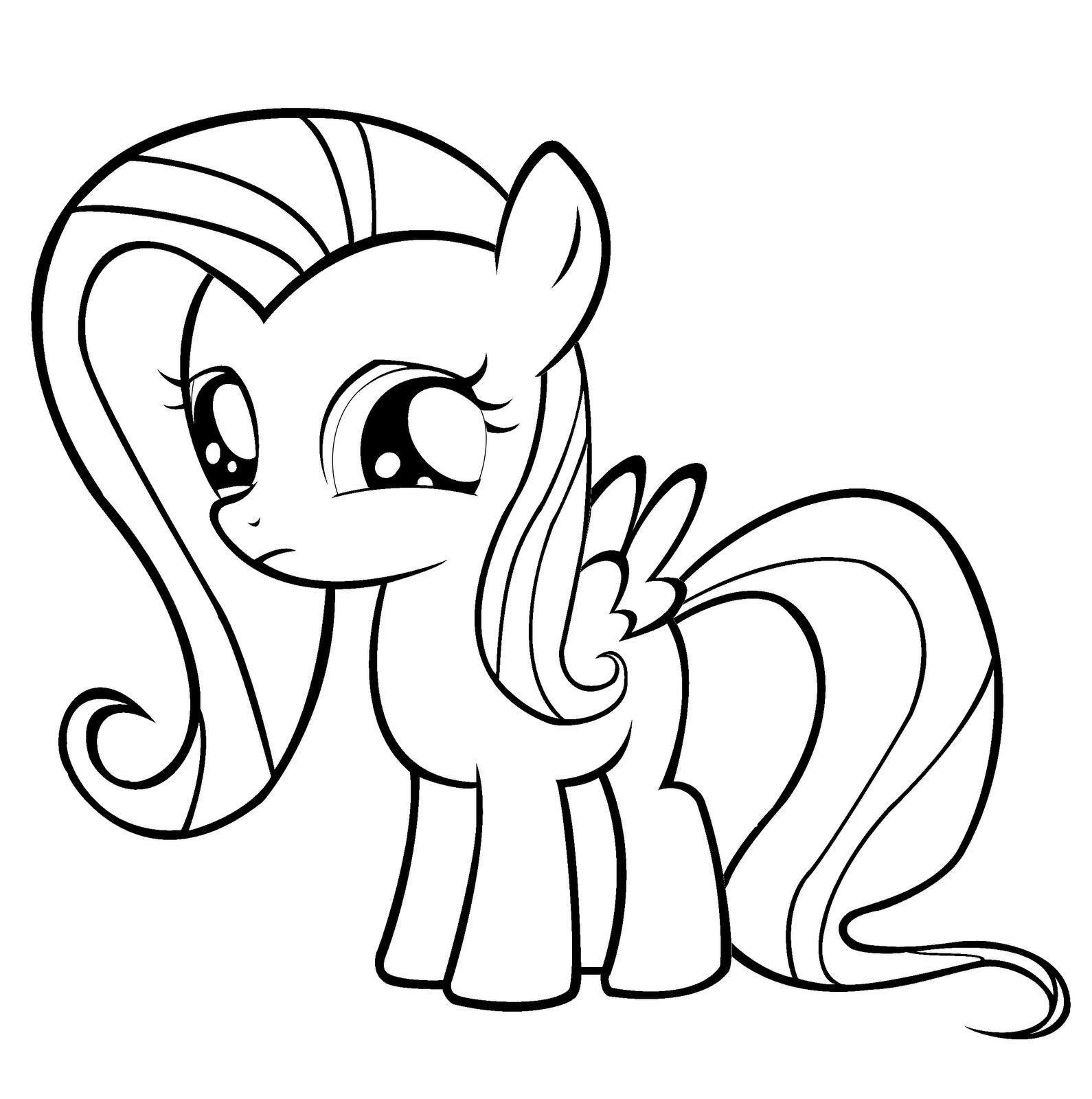 Nice My Little Pony Coloring Pages Of Fluttershy that you