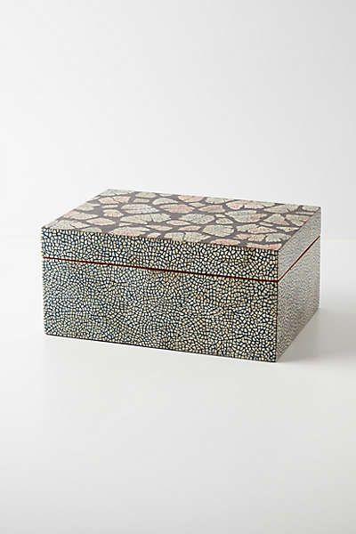 Anthropologie Cracked Eggshell Jewelry Box Craftacular