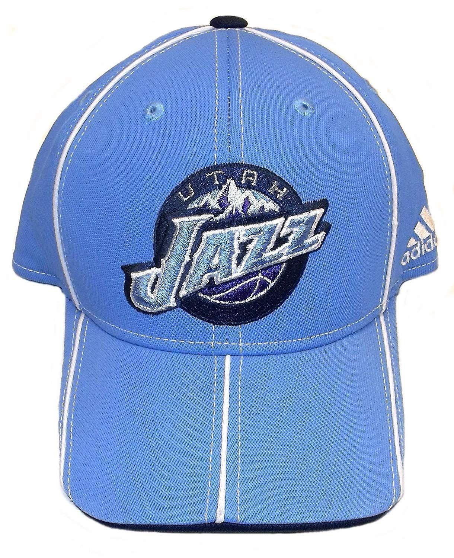80c0d3b15e0 adidas Utah Jazz Structured Flex Hat - S M