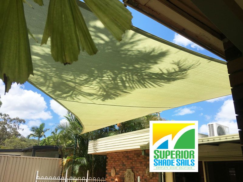 Pools Side Shade Sail Replacement In Daisy Hill By Superior Shade