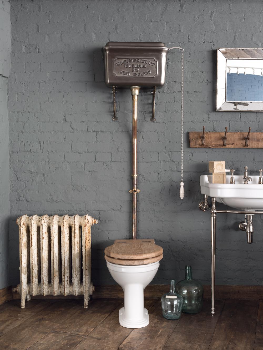 Photo of High Level Cistern Ensemble – Luxury Bathroom Designs