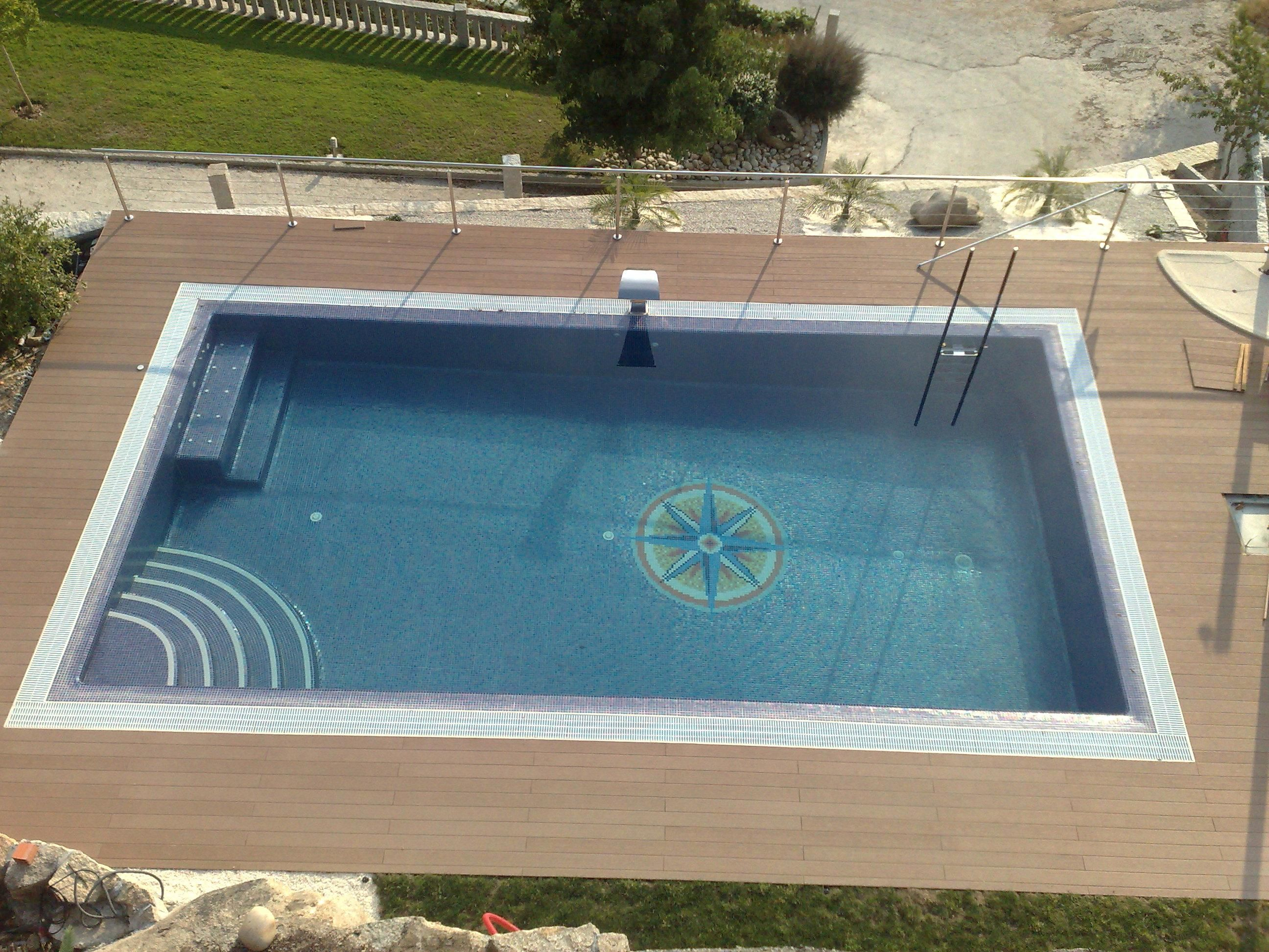 16 foot pool deck , 18 foot above ground pool deck plans , 18 foot ...