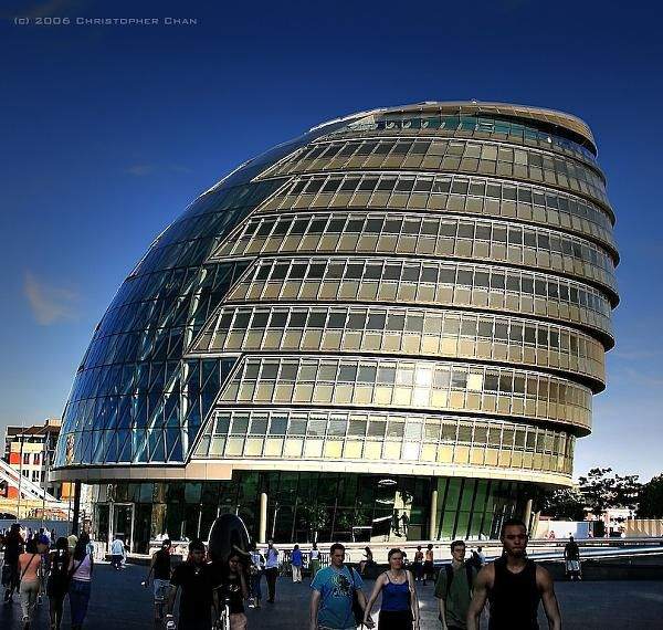 London City Hall Designed By Sir Norman Foster