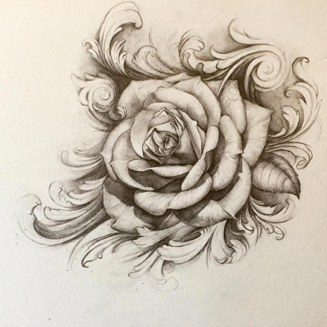 44++ Amazing Rose sleeve tattoo sketch image ideas