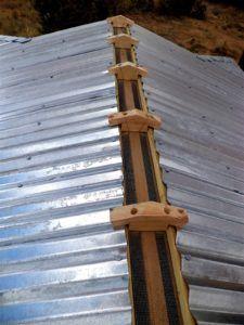 Metal Roof Venting Ridge Techos De Casas Techo De Lamina Estructura De Techo