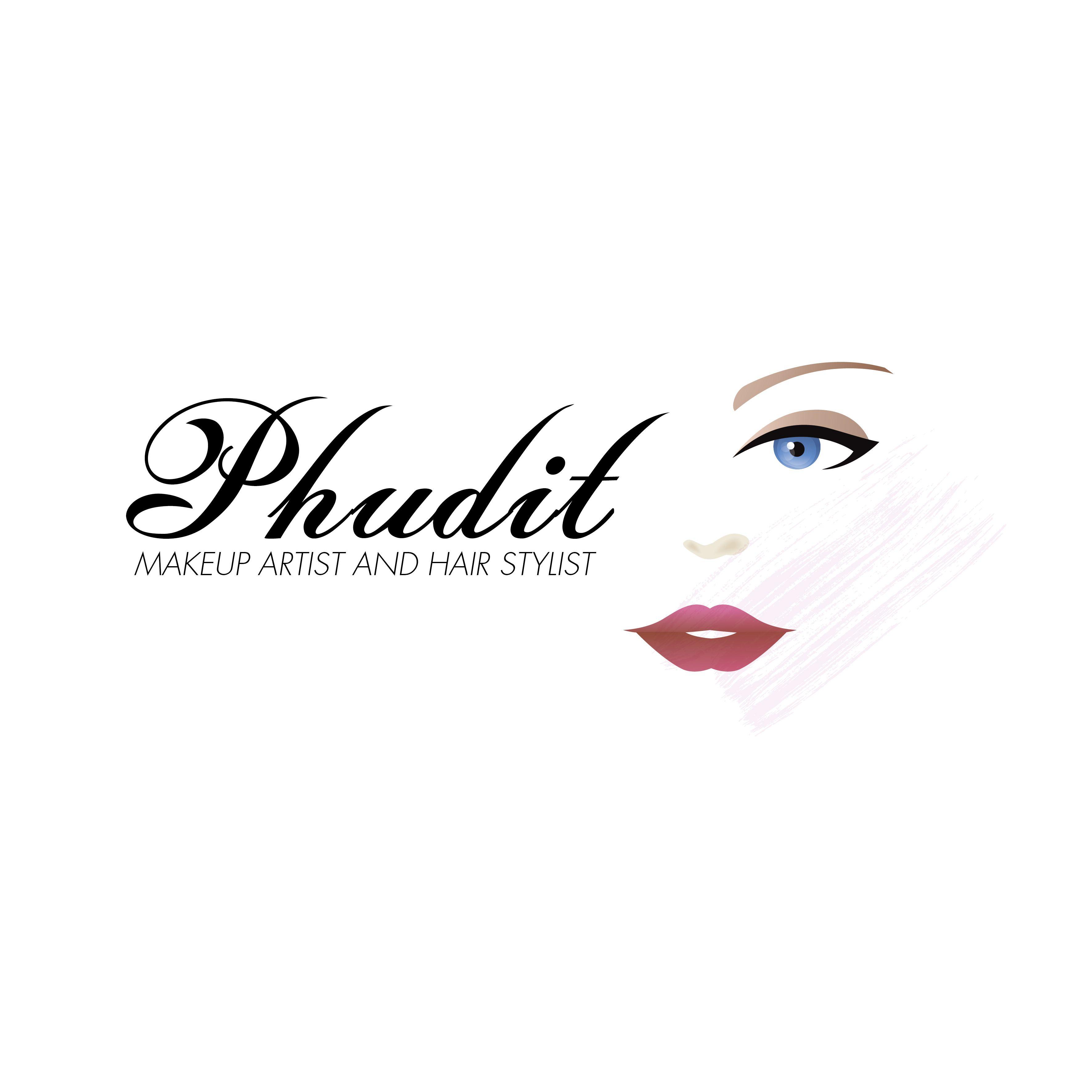 PhuditMakeupArtistLogo04.jpg (3543×3543) logo