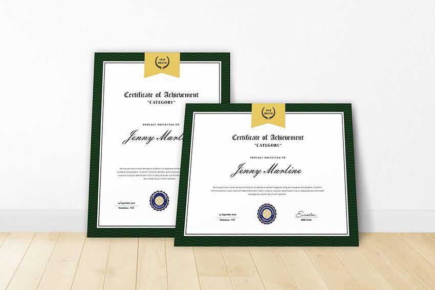17 Best Free Premium Google Docs Certificate Template Designs