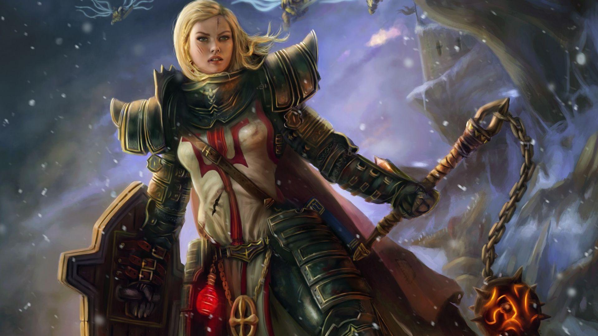 Diablo 3 Wallpaper Hd Free Download Jpg 1920 1080 Fantasy Armor Diablo Crusades