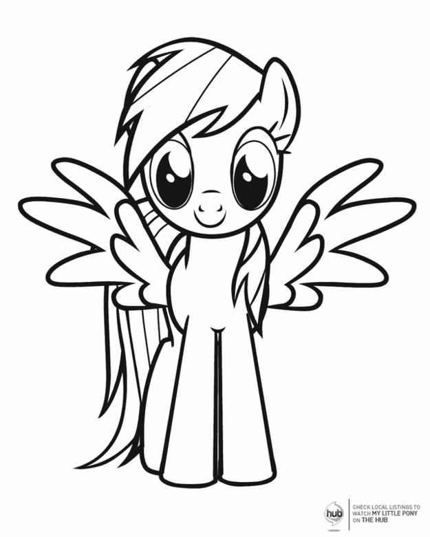 My Little Pony Coloring Sheets Rajzok Ponilo Es Rainbow Dash