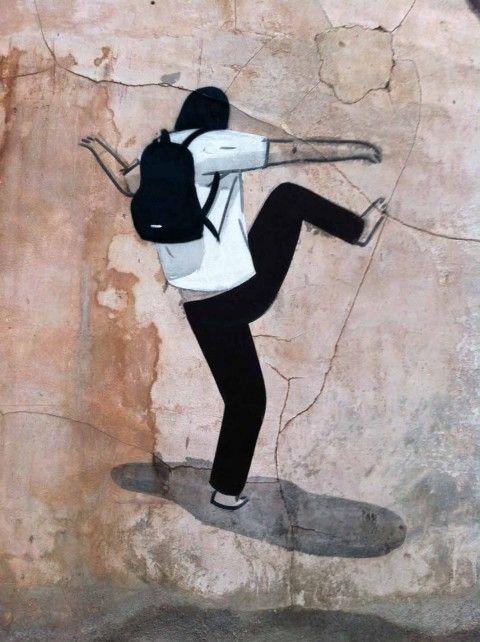 Escif – El Vandalismo Ilustrado New Mural @ Villareal, Spain