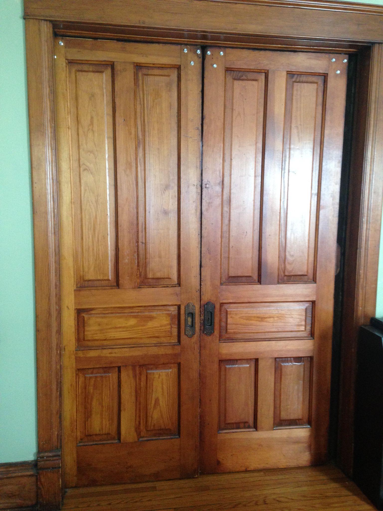How To Repair Old Pocket Doors Pocket Doors Wood Doors