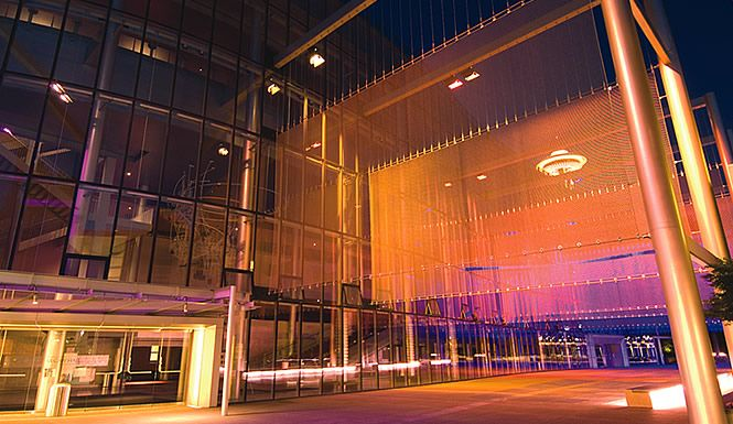 Mccaw Hall Seattle Mccaw Is Home To Both Pacific Northwest Ballet And Seattle Opera It S Acoustics Are Ph Pacific Northwest Ballet Installation Art Seattle