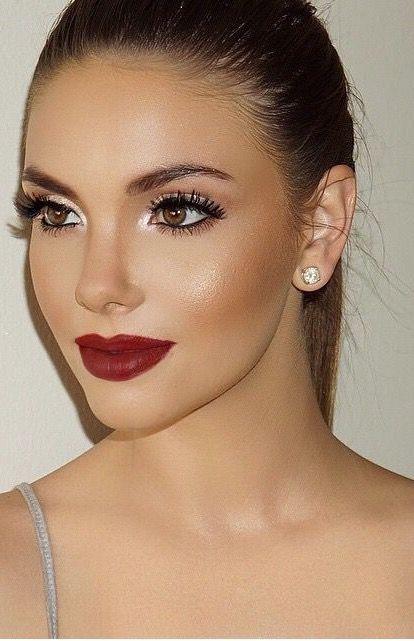 475cc5c371dd57 Simple look with bold lip | foxcroft | makeup inspo | Makeup ...
