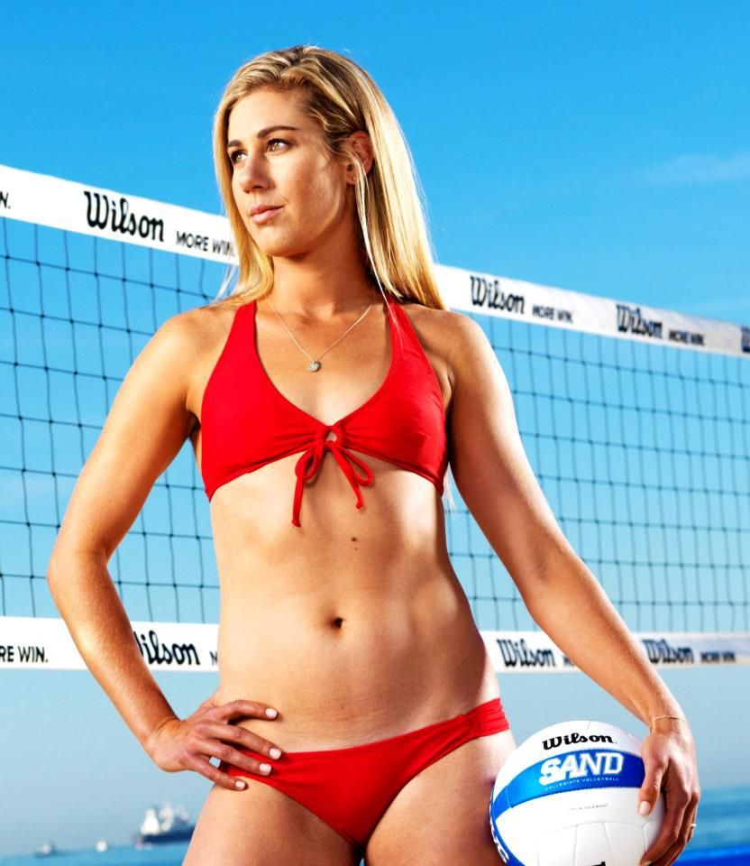 April Ross US Beach Volleyball Player   Amazing People   Pinterest ...