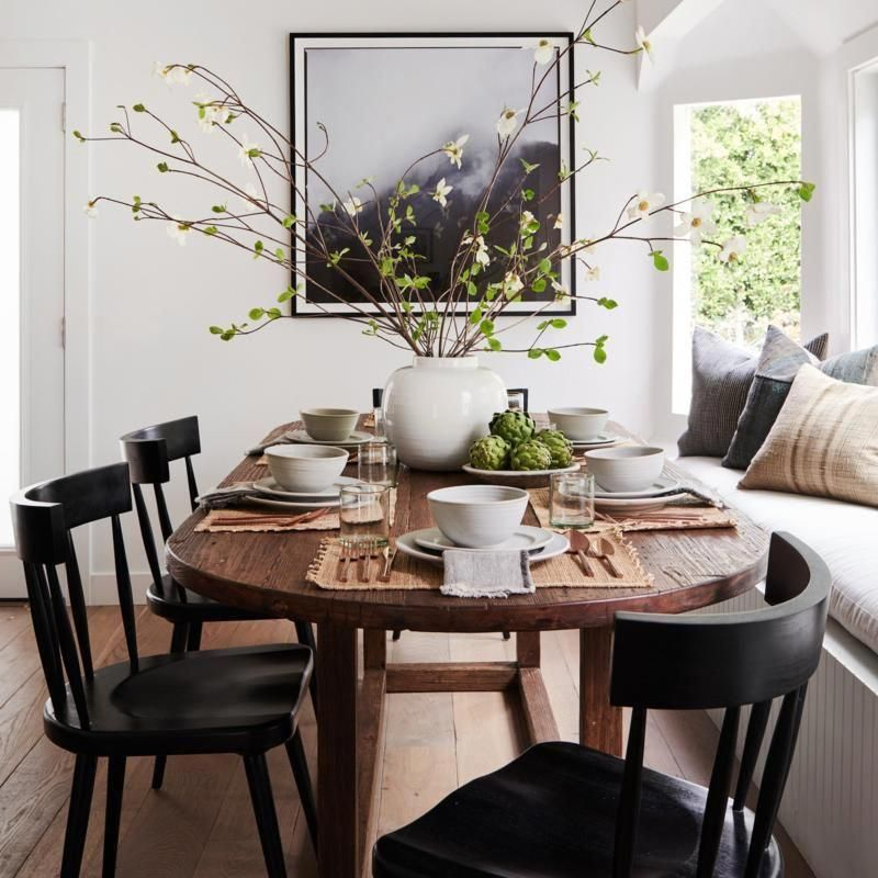 Dining Room Corner Decorating Ideas Space Saving Solutions: Woodlake Dining Table (With Images)