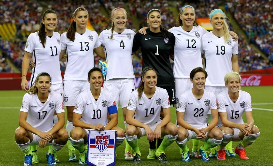 Women S World Cup 10 Inspiring Players On The U S Women S Soccer Team Women S Soccer Team Fifa Women S World Cup Soccer