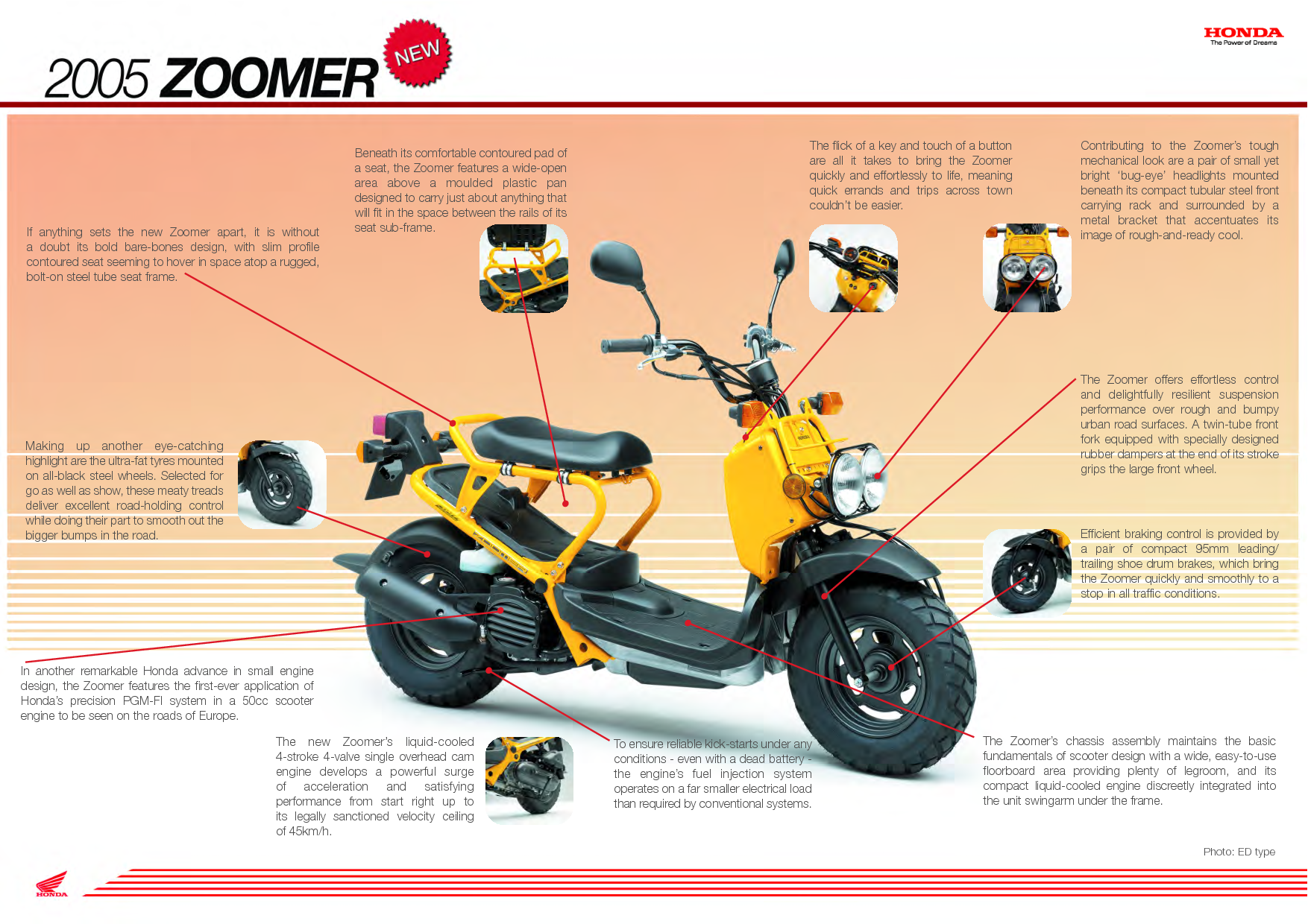 scooter for camper honda zoomer ruckus bicycle. Black Bedroom Furniture Sets. Home Design Ideas