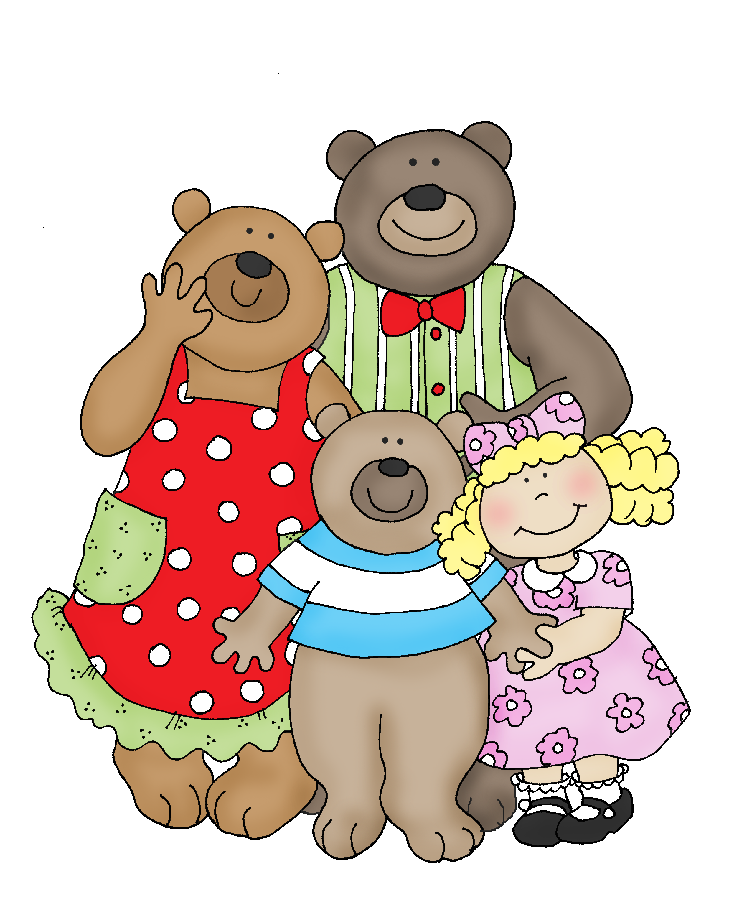 Image result for goldilocks and the 3 bears