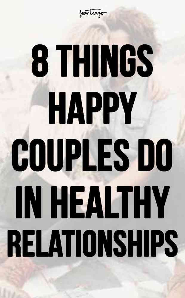 8 Things Happy Couples Do For Each Other Without Being Asked
