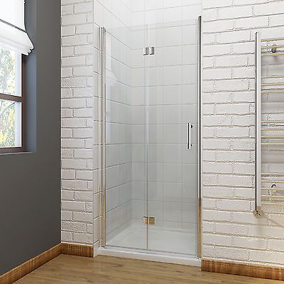 Frameless Bifold Shower Door Enclosure 6mm Glass Screen 700 760 800 900 1000mm Bifold Shower Door Frameless Bifold Shower Doors Shower Doors