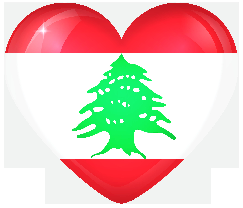 Lebanon Large Heart Flag In 2020 Lebanon Flag Lebanon Flag