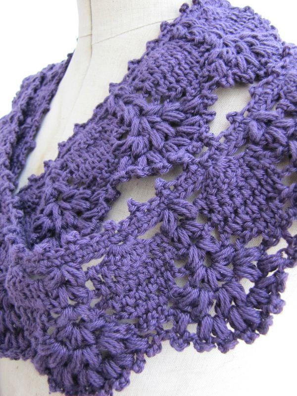 lovely scarf | crochet | Pinterest | Tejido, Chal y Ganchillo