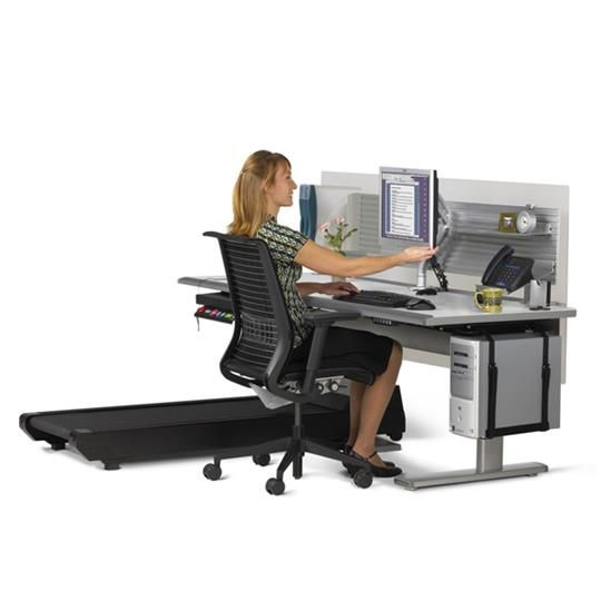 Explore Treadmill Desk Desk Ideas and more!  sc 1 st  Pinterest & Sit-to-Walkstation (accessories/chair not included) | New Office ...