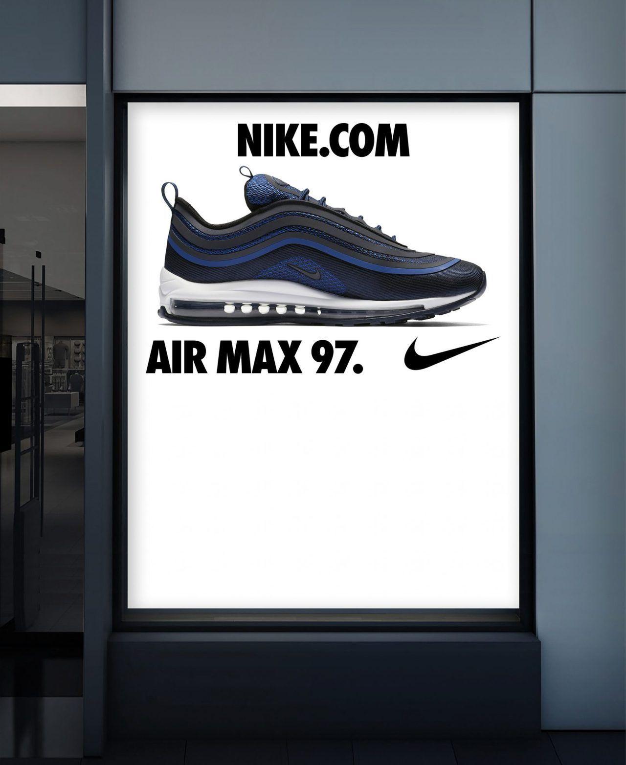 DESIGN EVERYWHERE Learning logo, Air max 97, Nike