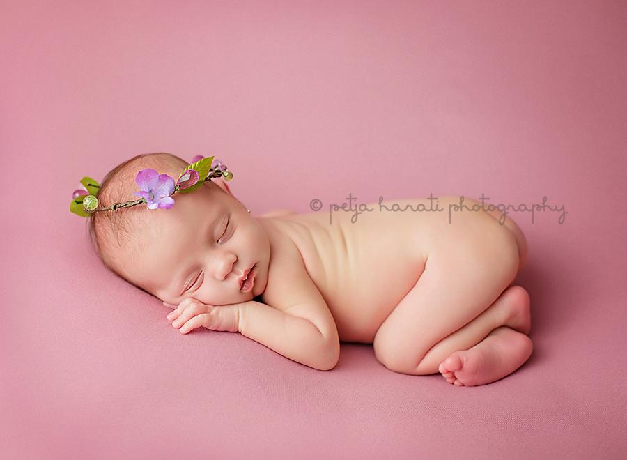 Newborn photography bump up